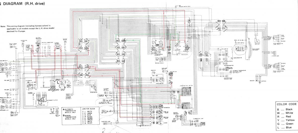 260z Au Engine Bay Wiring Info - Electrical Systems