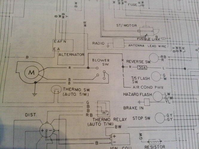 [DVZP_7254]   Blower fan wiring - Electrical systems - Auszcar | 240z Wiring Diagram |  | Datsun 240z 260z | Auszcar