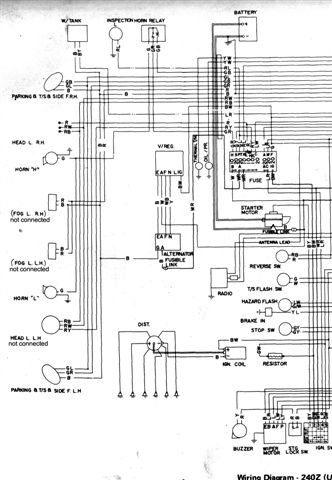 [SCHEMATICS_49CH]  Wanted 71 Aus 240Z Wiring Diagram - Electrical systems - Auszcar | 240z Wiring Diagram |  | Datsun 240z 260z | Auszcar